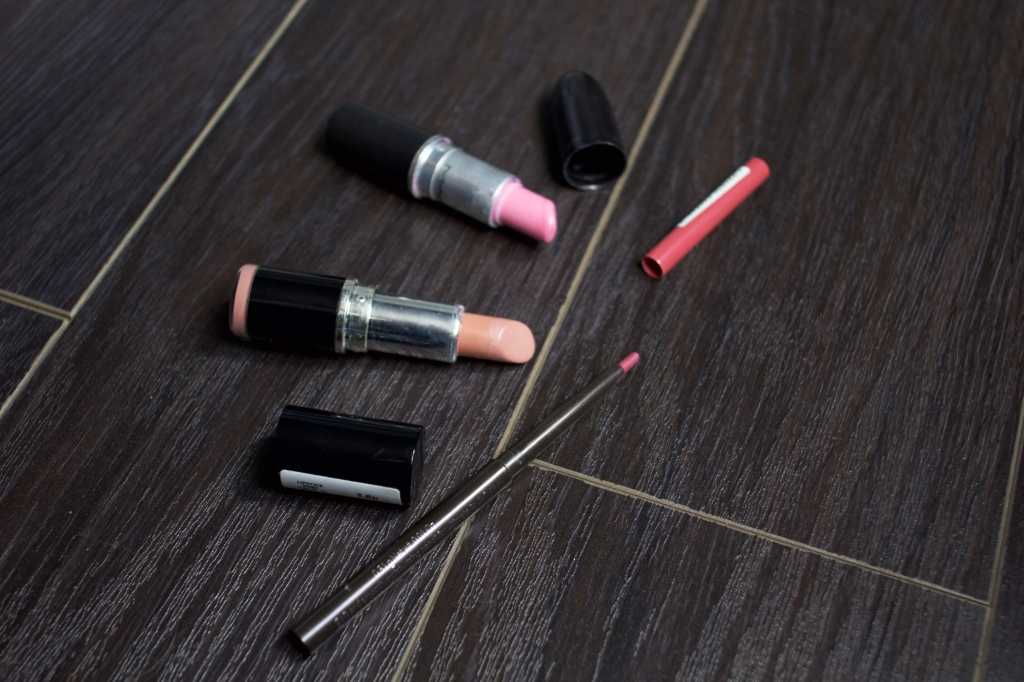 products on floor